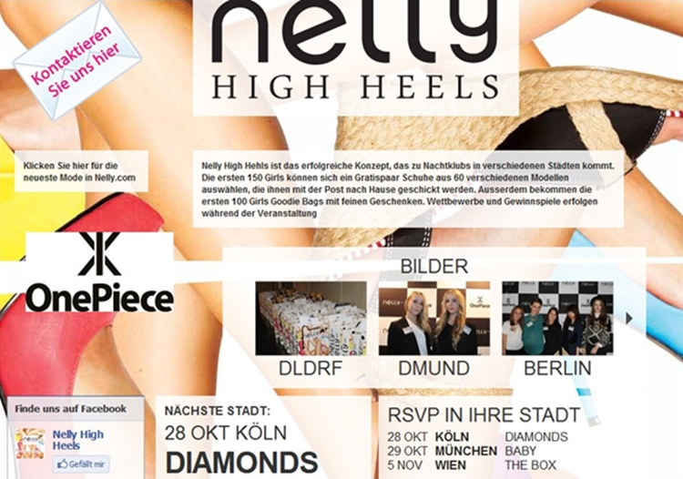 Nelly High Heels Tour – Hannover
