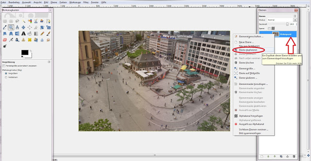 Tutorial: Tilt-Shift-Effekt mit Gimp
