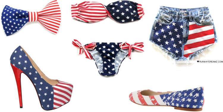 american flag trend