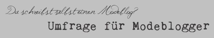 Umfrage_Modeblogger