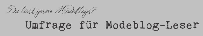 Umfrage_Modeblogleser