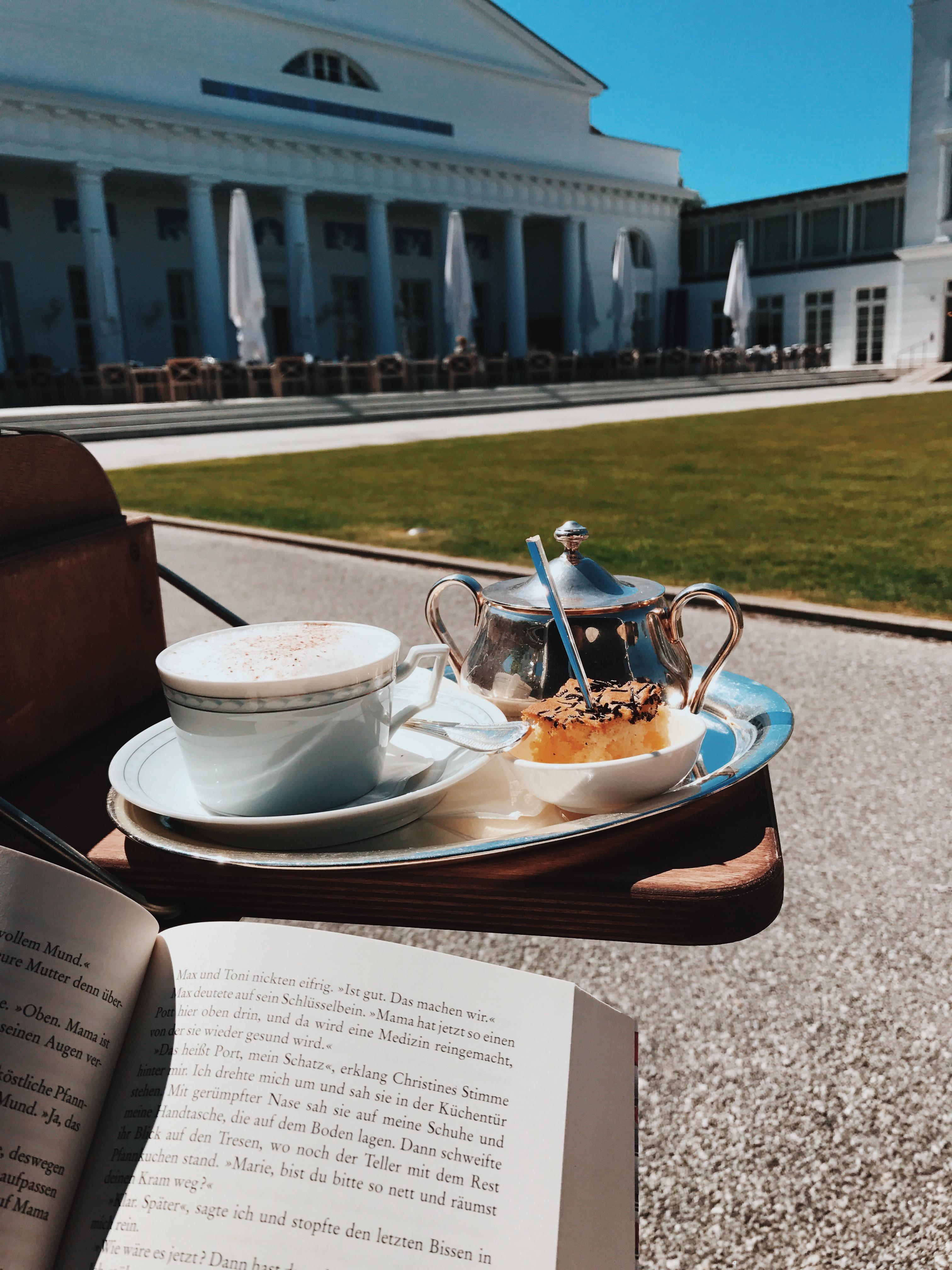 Lesen im Grand Hotel Heiligendamm