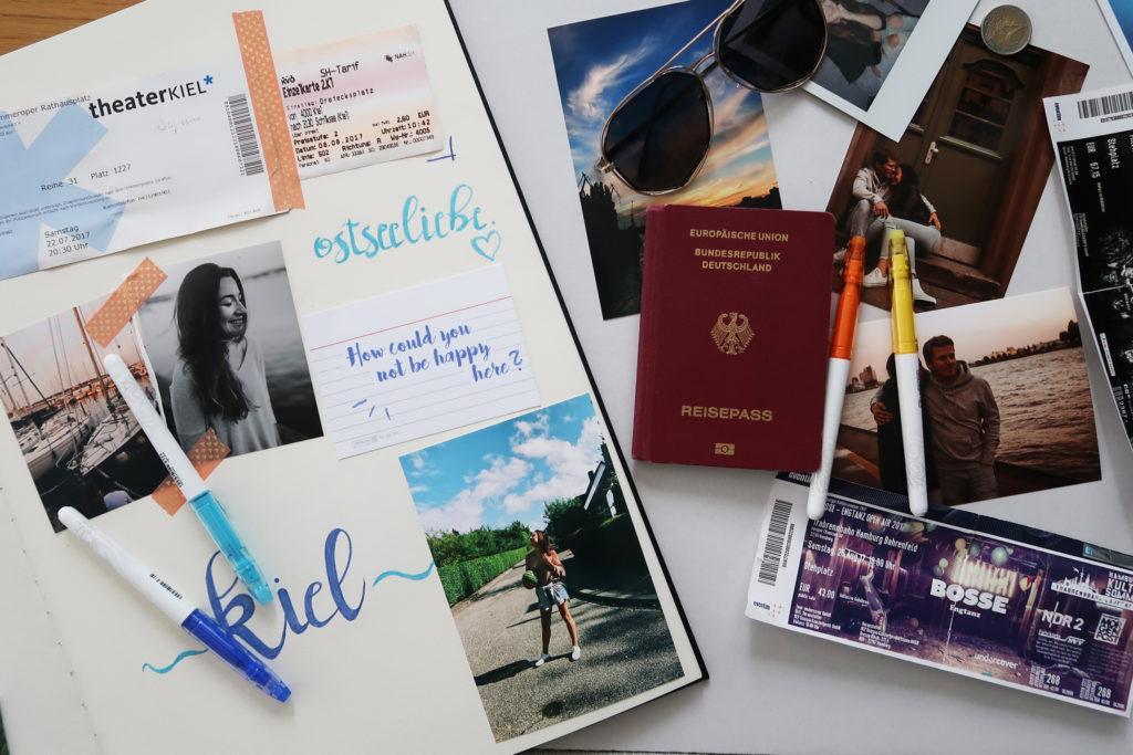 Lettering | Sommererinnerungen & mein Fotoalbum